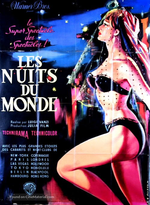 Il mondo di notte - French Movie Poster