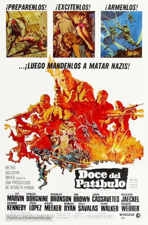 The Dirty Dozen - Spanish Movie Poster