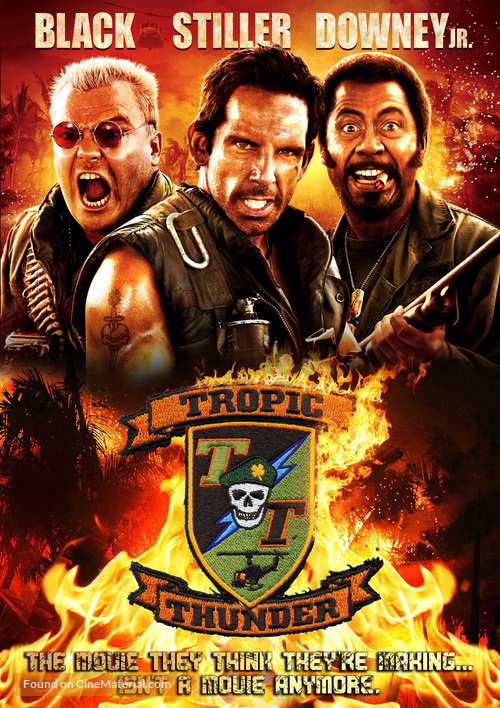 Tropic Thunder - Movie Cover