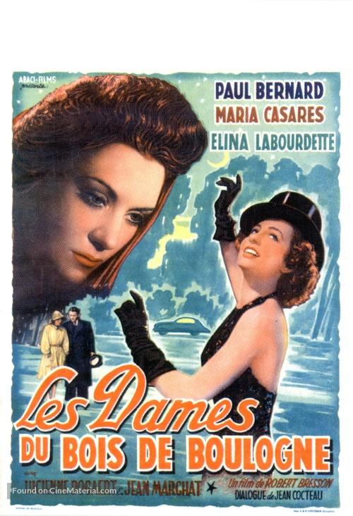 Dames du Bois de Boulogne, Les - Belgian Movie Poster