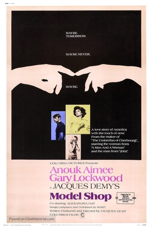 Model Shop - Movie Poster