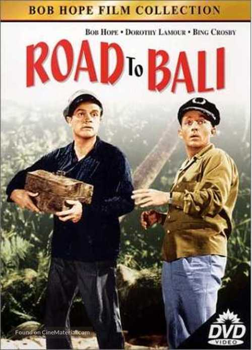 Road to Bali - DVD cover