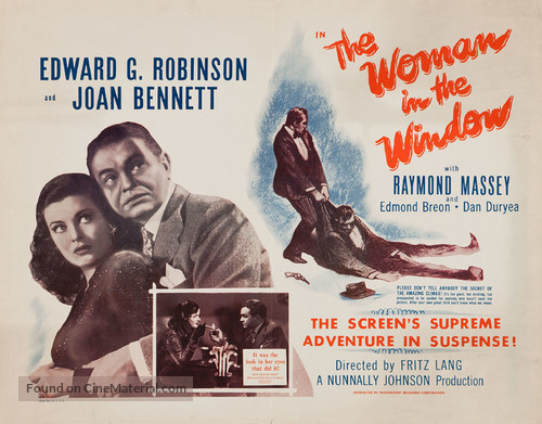 The Woman in the Window - Re-release poster