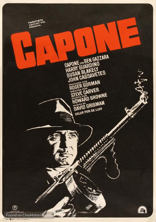 Capone - Spanish Movie Poster