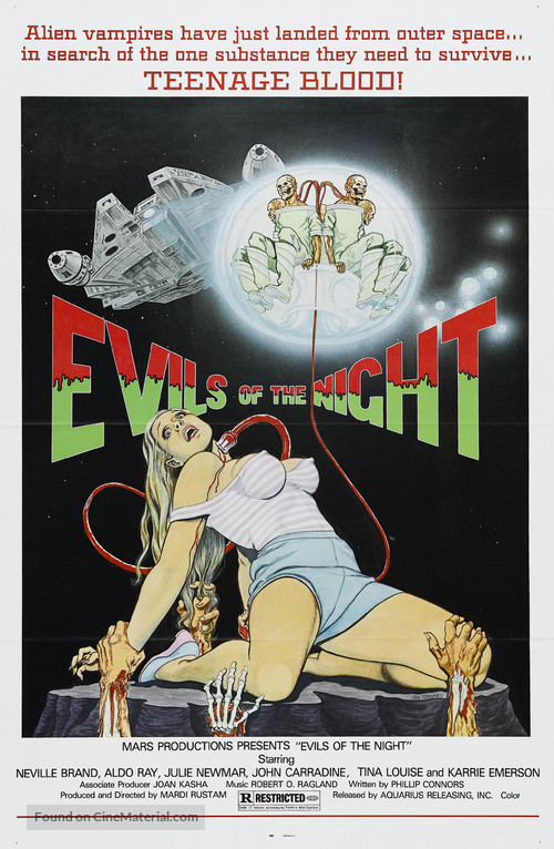 Evils of the Night - Movie Poster