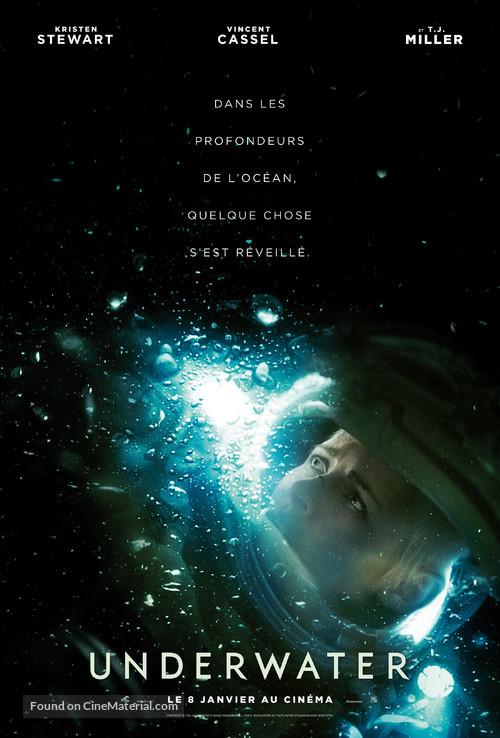 Underwater - French Movie Poster