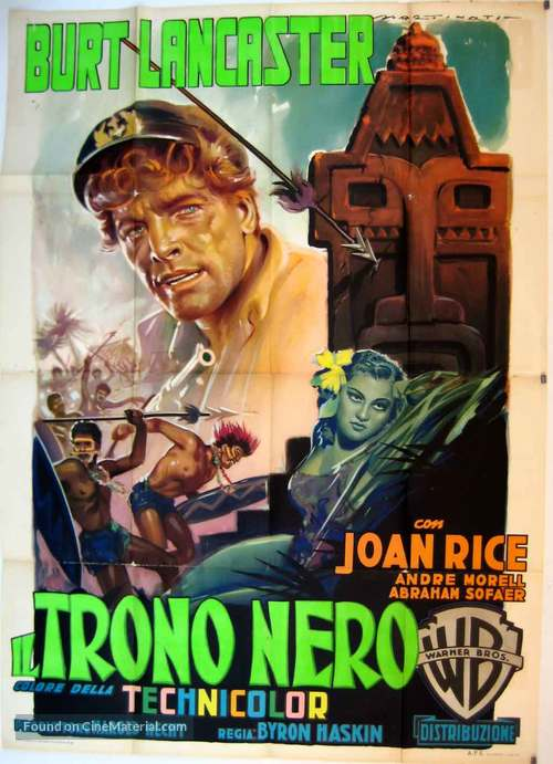 His Majesty O'Keefe - Italian Movie Poster