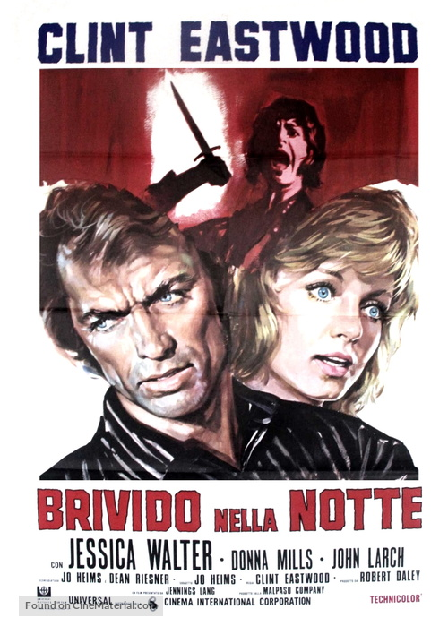 Play Misty For Me (1971) Italian movie poster