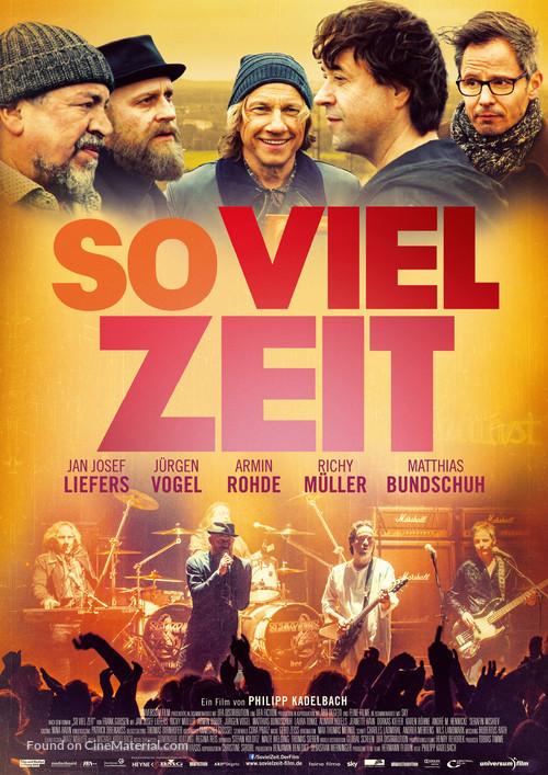 So viel Zeit - German Movie Poster