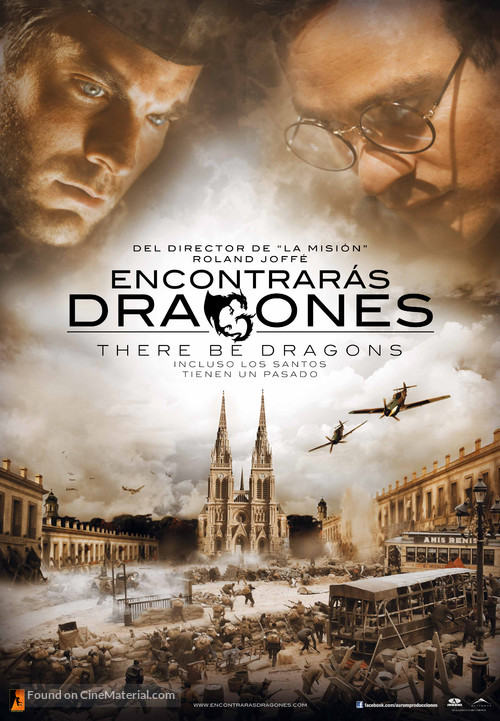 There Be Dragons - Spanish Movie Poster