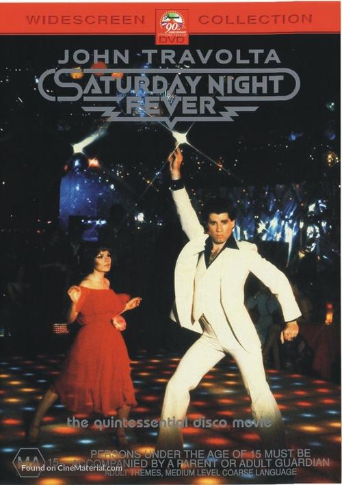 Saturday Night Fever - Australian Movie Cover