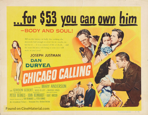 Chicago Calling - Movie Poster