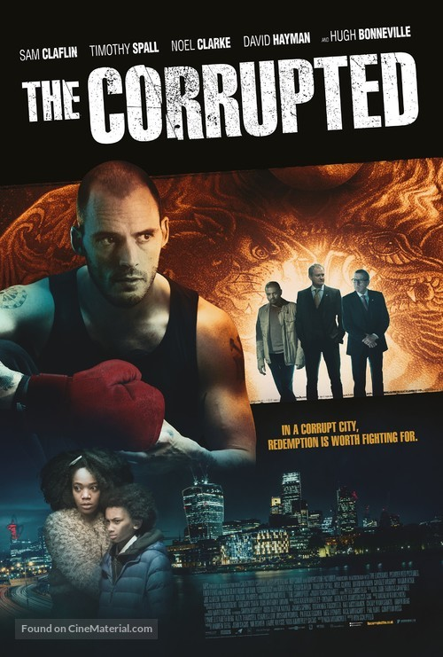 The Corrupted - British Movie Poster