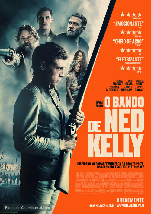 True History of the Kelly Gang - Portuguese Movie Poster