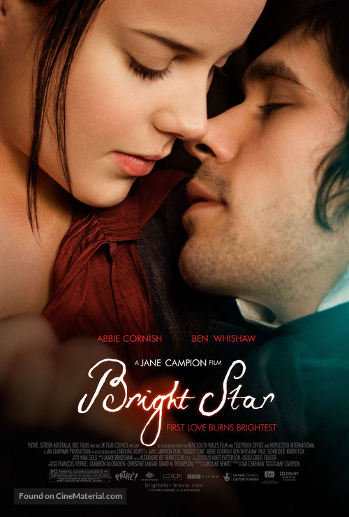 Bright Star - Theatrical movie poster