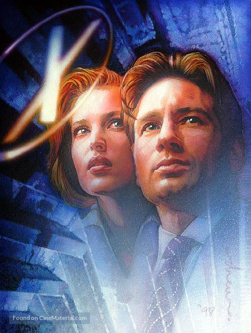 The X Files 1998 Key Art
