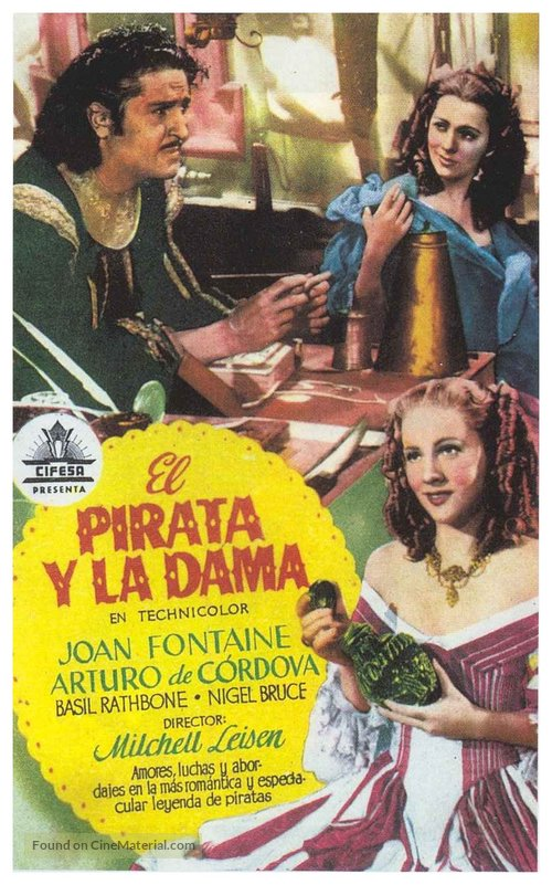 Frenchman's Creek - Spanish Movie Poster