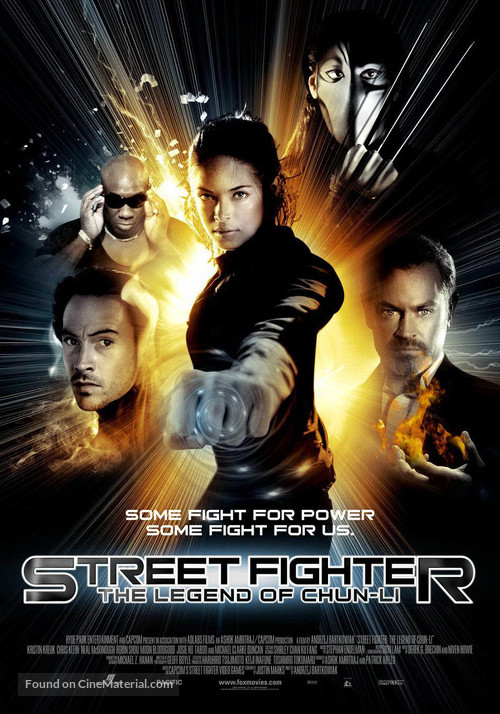 street fighter the legend of chunli thai movie poster