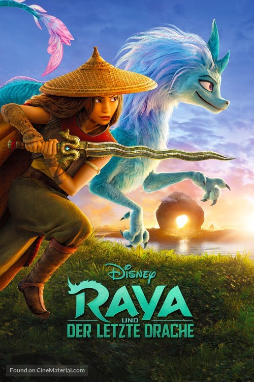 Raya and the Last Dragon - German Video on demand movie cover