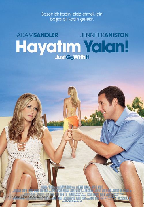 Just Go with It - Turkish Movie Poster