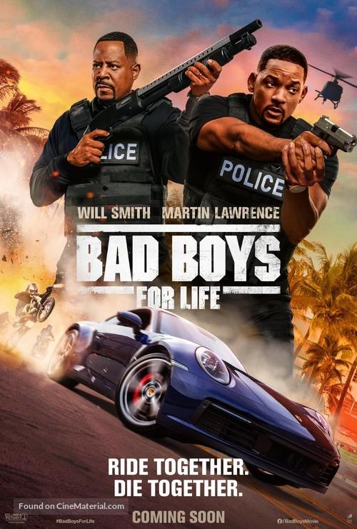 Bad Boys for Life - International Movie Poster