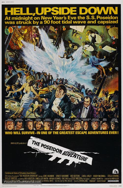 The Poseidon Adventure - Theatrical movie poster
