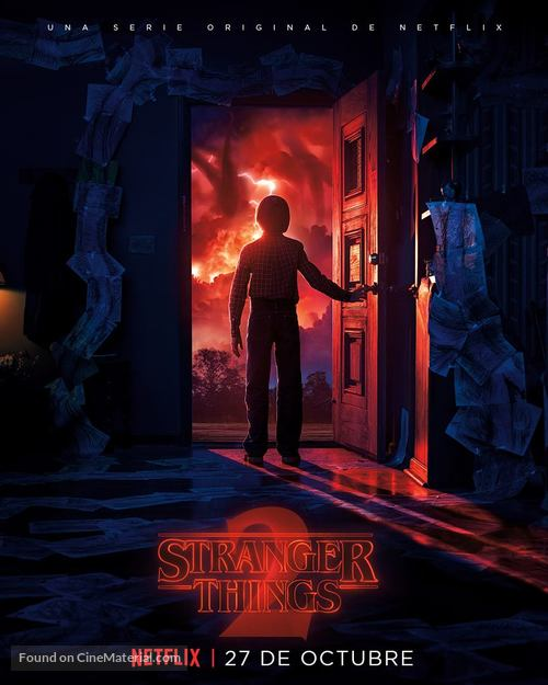 """""""Stranger Things"""" - Mexican Movie Poster"""