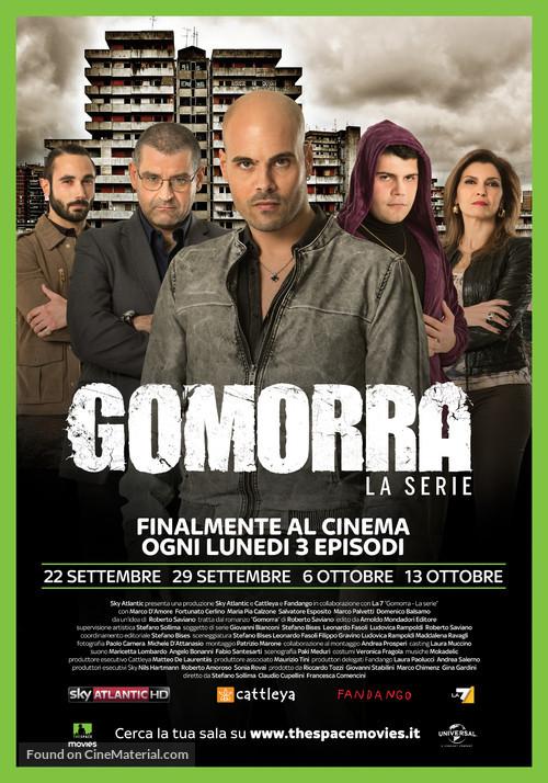 """Gomorra"" - Italian Movie Poster"
