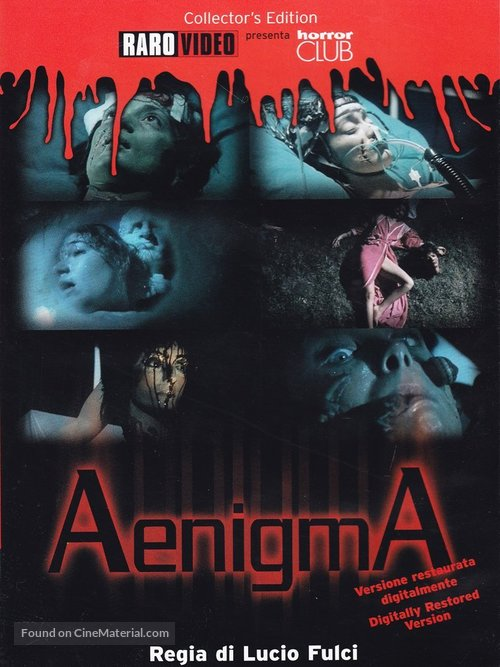 Aenigma - Italian DVD movie cover