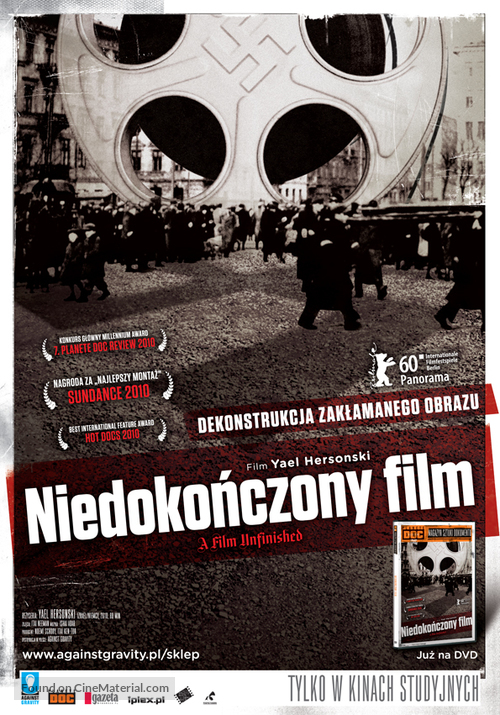 A Film Unfinished - Polish Movie Poster