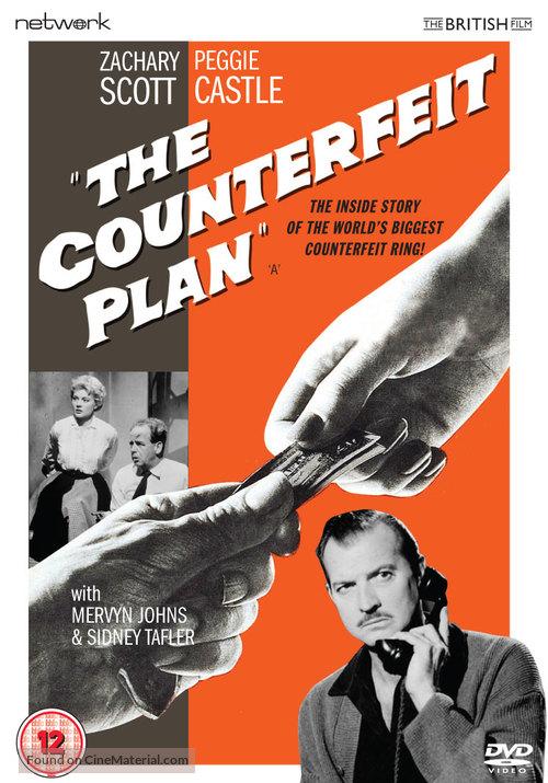 The Counterfeit Plan - British DVD movie cover