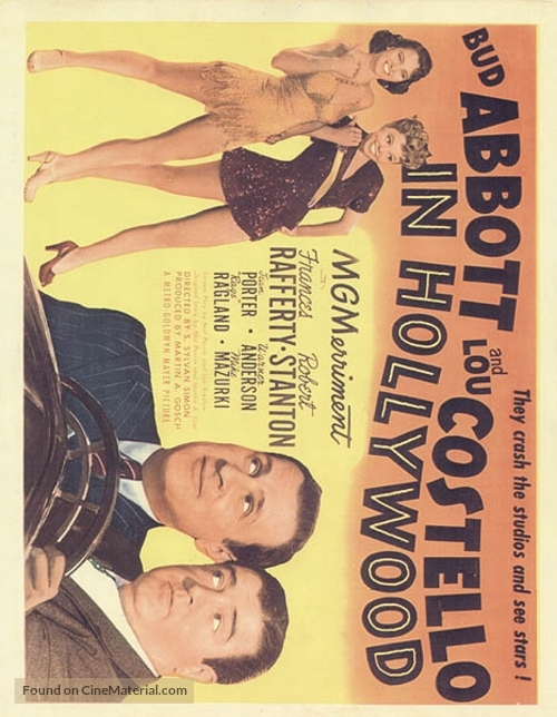 Abbott and Costello in Hollywood - poster