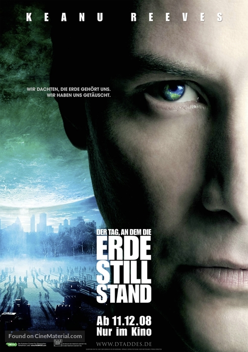 The Day the Earth Stood Still - German Movie Poster