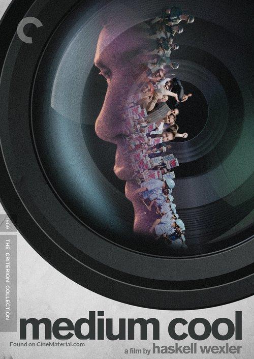 Medium Cool - DVD movie cover