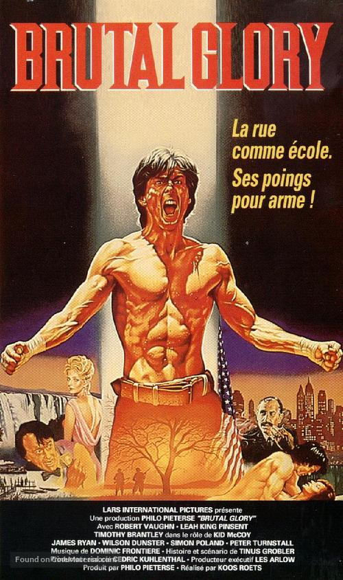 Brutal Glory - French VHS movie cover