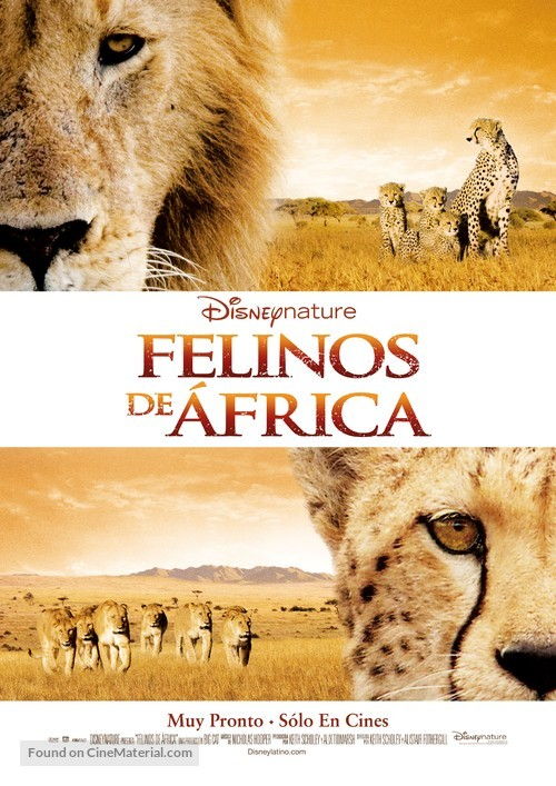 African Cats - Argentinian Movie Poster