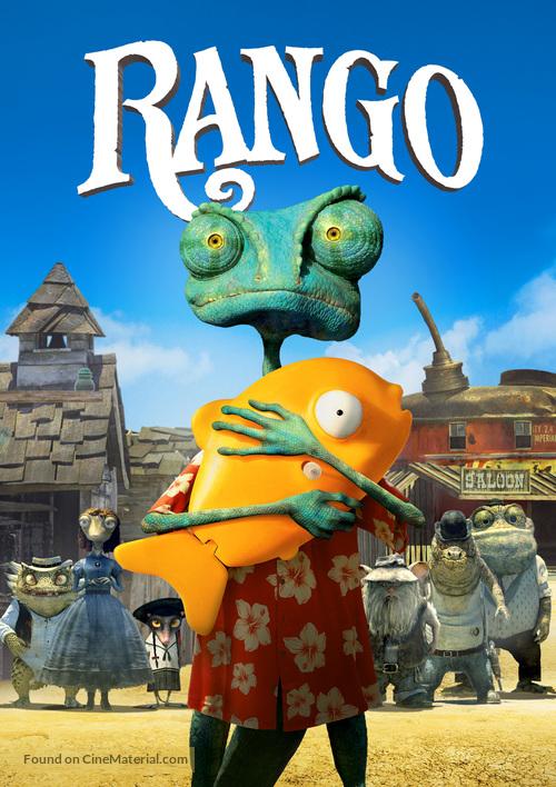 Rango 2011 Movie Cover