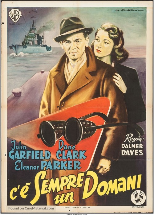 Pride of the Marines - Italian Movie Poster