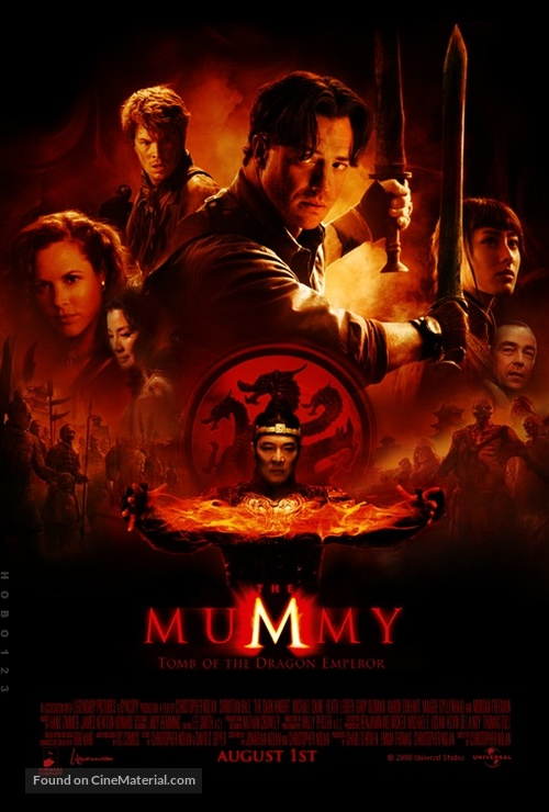 The Mummy: Tomb of the Dragon Emperor - Movie Poster