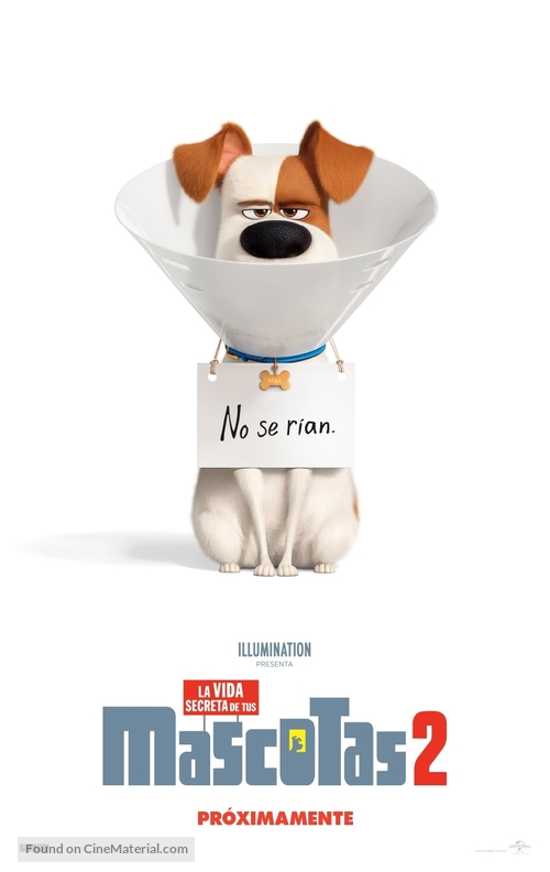 The Secret Life of Pets 2 - Colombian Movie Poster