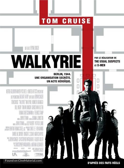 Valkyrie - French Movie Poster