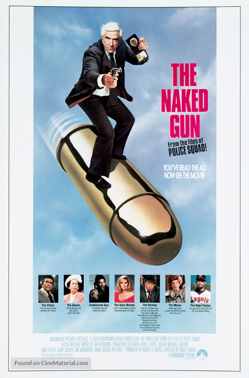 The Naked Gun - Movie Poster