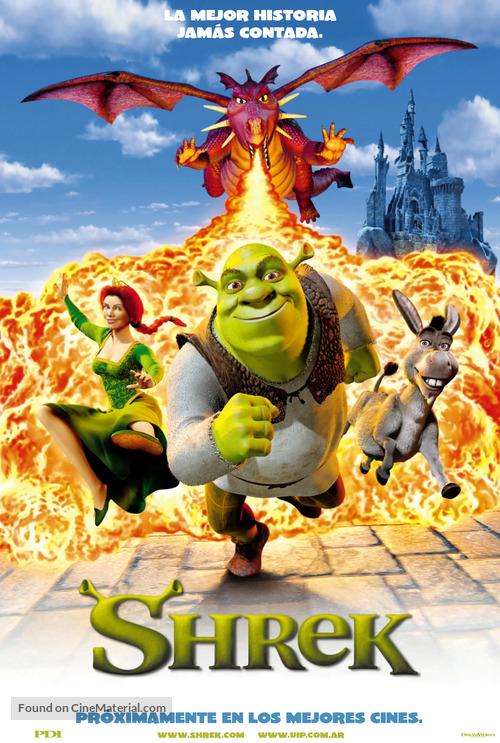Shrek - Argentinian Movie Poster