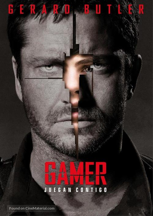 Gamer - Colombian Movie Poster