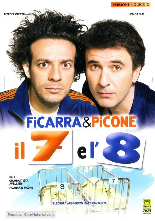 Il 7 e l'8 - Italian DVD movie cover