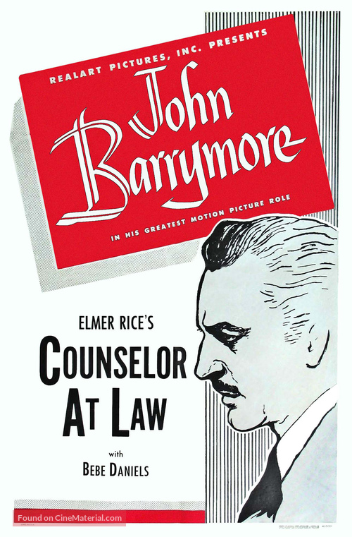 Counsellor at Law - Movie Poster
