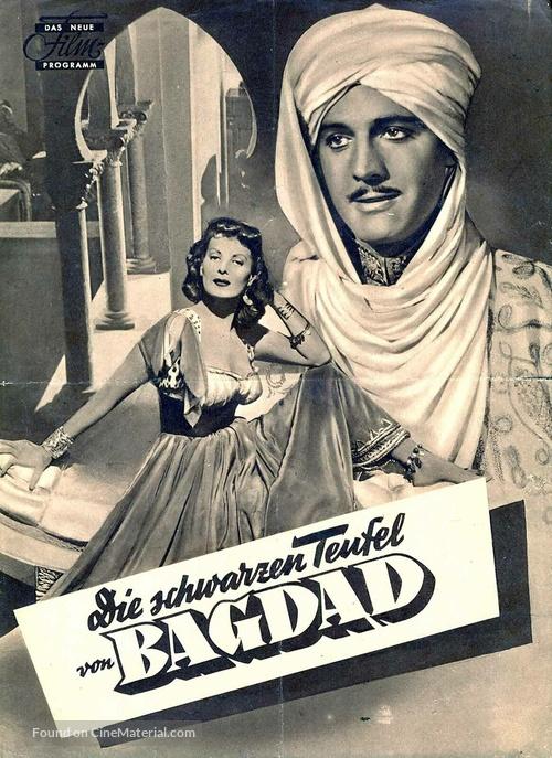 Bagdad - German poster