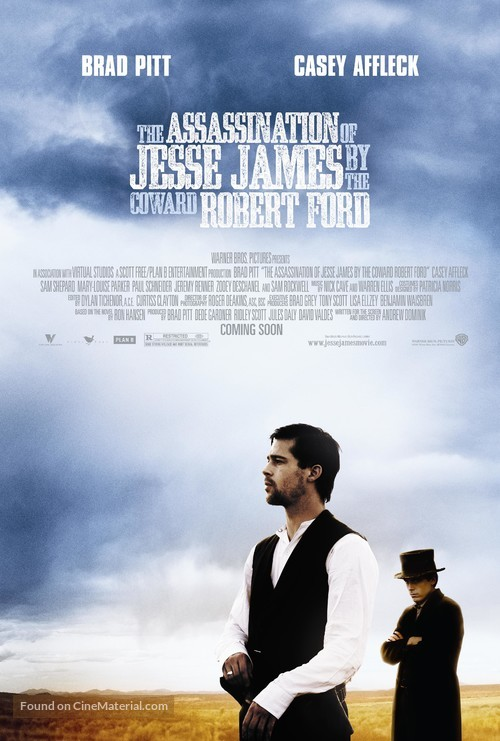 The Assassination of Jesse James by the Coward Robert Ford - Movie Poster