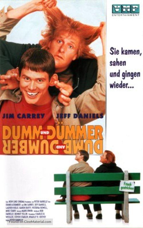 Dumb & Dumber - German Movie Cover