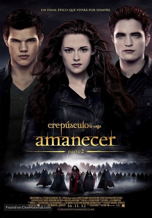 The Twilight Saga: Breaking Dawn - Part 2 - Mexican Movie Poster